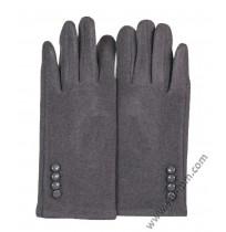 Дамски ватирани ръкавици в 3 цвята