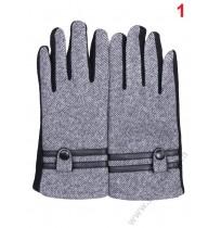 5707 Мъжки ватирани ръкавици в 3 цвята