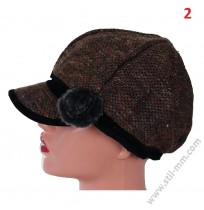 Красива зимна шапка - ПОСЛЕДНА