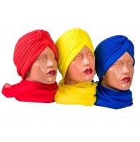 Дамски тюрбан в 21 цвята