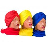 Дамски тюрбан в 20 цвята