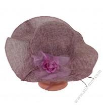 Дамска шапка с периферия в 4 цвята