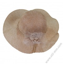 Дамска шапка с периферия в 3 цвята