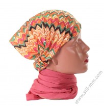 Памучна кърпа за глава в 2 цвята